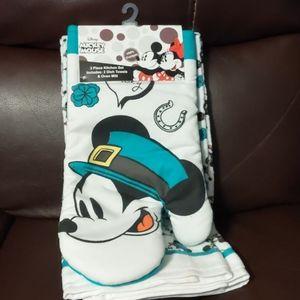 Disney Mickey Mouse 3 Piece Kitchen Set
